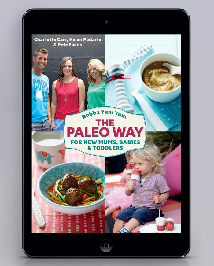 Pete Evans Digital Publication Design